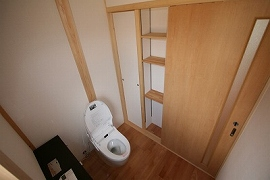 水回り(トイレ)の施工例1