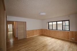 洋室の施工例1
