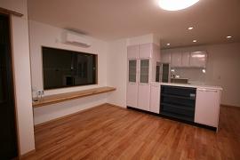 キッチンの施工例2
