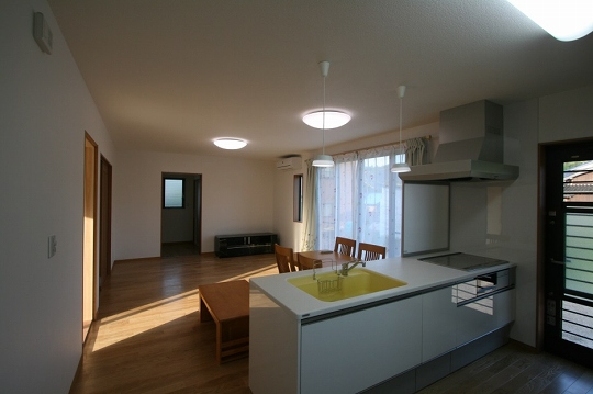 キッチンの施工例4