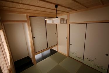 和室の施工例4